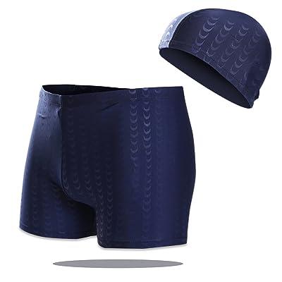Cool Wearer Swim Trunks Men's Swimwear Beach Quick Dry Large Size Sharkskin Adult Swim Trunks Suit