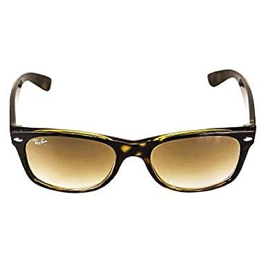 8e8b788e0c Ray-Ban RB2132 New Wayfarer Crystal Unisex Sunglasses (Light Havana  Frame Crystal Brown