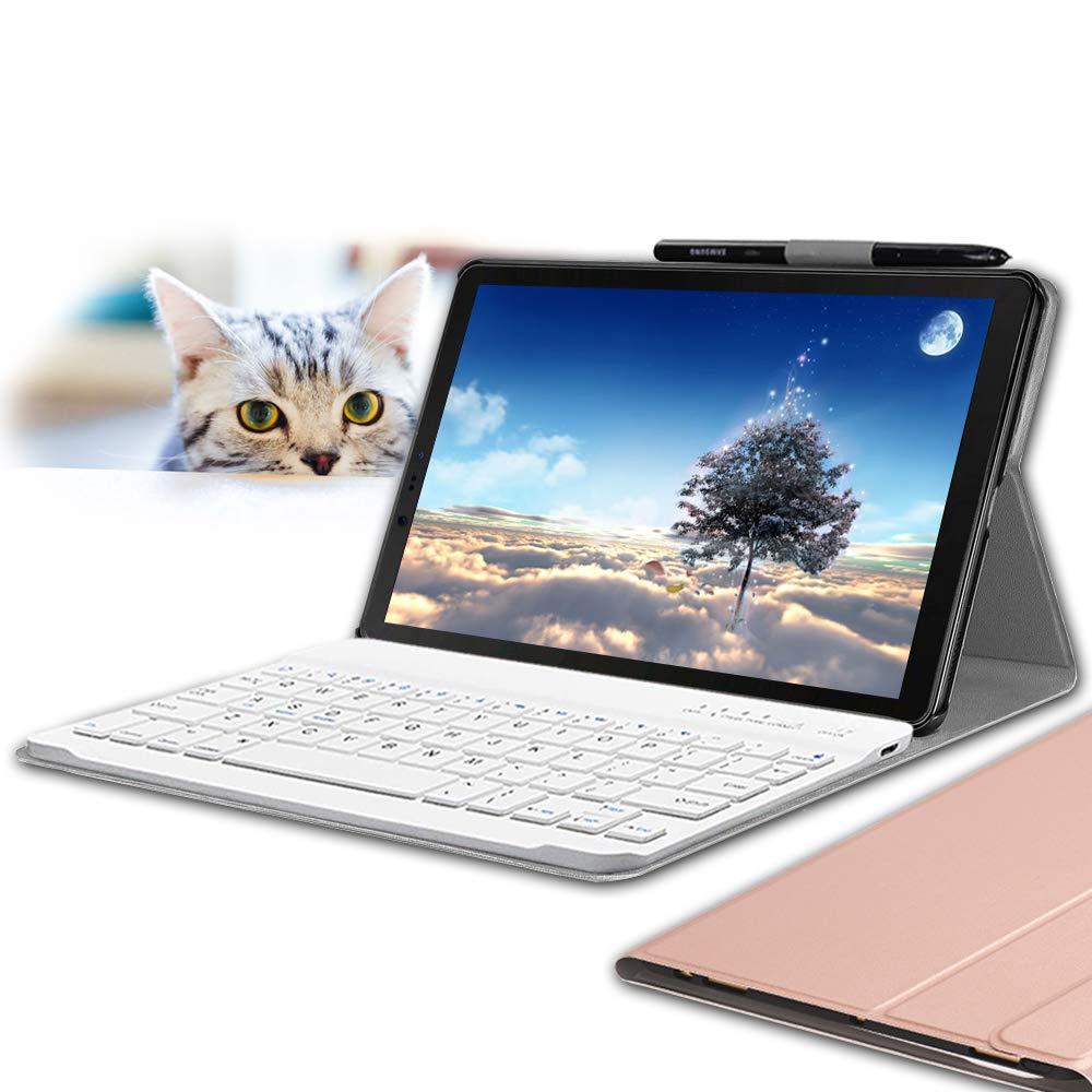 Funda + Teclado Galaxy Tab S4 10.5 WINEECY [7KCPZ2XR]