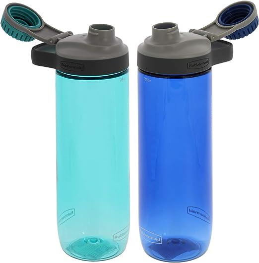 Good Design Works Botella de Agua Plegable Botella de Viaje port/átil Azul