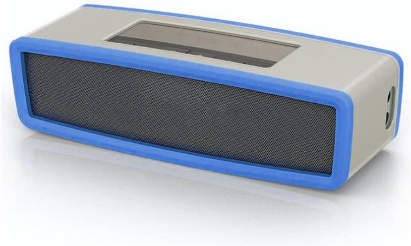 GorNorriss Electronics Gadgets Travel Box Silicone Carry Case Bag for Bose SoundLink Mini Bluetooth Speaker Blue