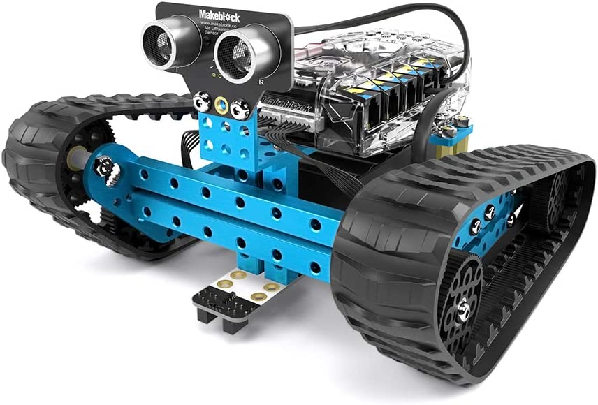 Makeblock mBot Ranger Robots programables para niños, Kit de Robot Educativo, Juguete Stem, Versión Bluetooth, Azul, Regalo para Niños, 3 Apps Gratis