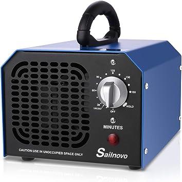 Sailnovo Ozone Generator 6000mg/h Comercial Industrial Purificador ...