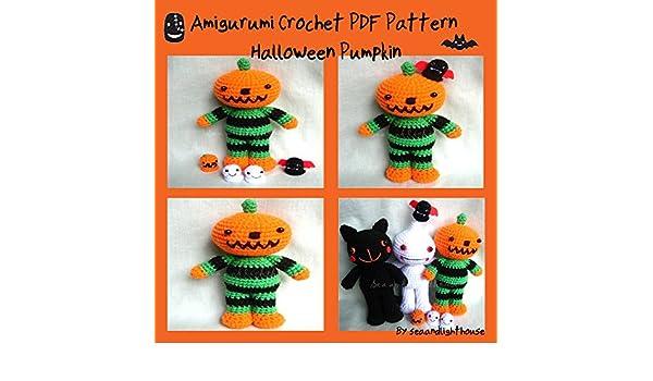 21 Free Fall and Halloween Pumpkins Crochet Patterns   FeltMagnet   350x600