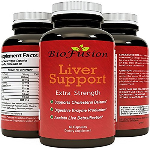 Natures Craft's Best Liver Detox Cleanse For Women And Men - Liver Support and Detox Cleanse Weight Loss Pills with Energy - Antioxidants Milk Thistle Dandelion Root & Selenium Turmeric Curcumin