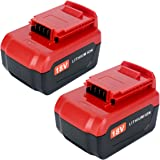 Lasica Upgraded 2-Pack 4000mAh 18V Lithium Battery PC18B Compatible with Porter Cable 18 Volt Cordless Power Tools…