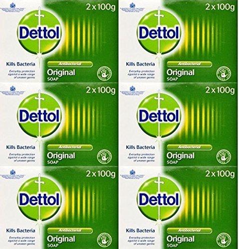 Dettol Antibacterial Soap 100g Twin Pack x 6 Packs