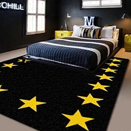 RXIN zy Moderne Simple IKEA Noir Jaune étoile à Cinq ...