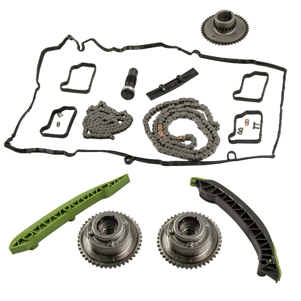 Amazon.com: Camshaft Adjuster Timing Chain Kit for Mercedes W203 W204 C250 SLK250 E250 M271: Automotive