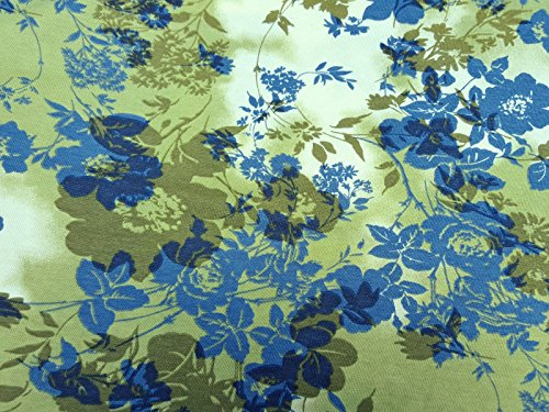 Organic Cotton Spandex Print #6 Fabric by Yard Jersey Knit 4 Way Stretch 8/2/17
