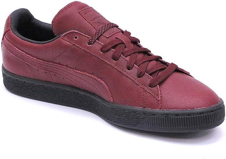Chaussures Suède Classic Winterized Rouge Homme Puma: Amazon