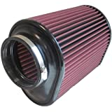 S&B Filters KF-1050 High Performance Replacement Filter (Cleanable, 8-ply Cotton)