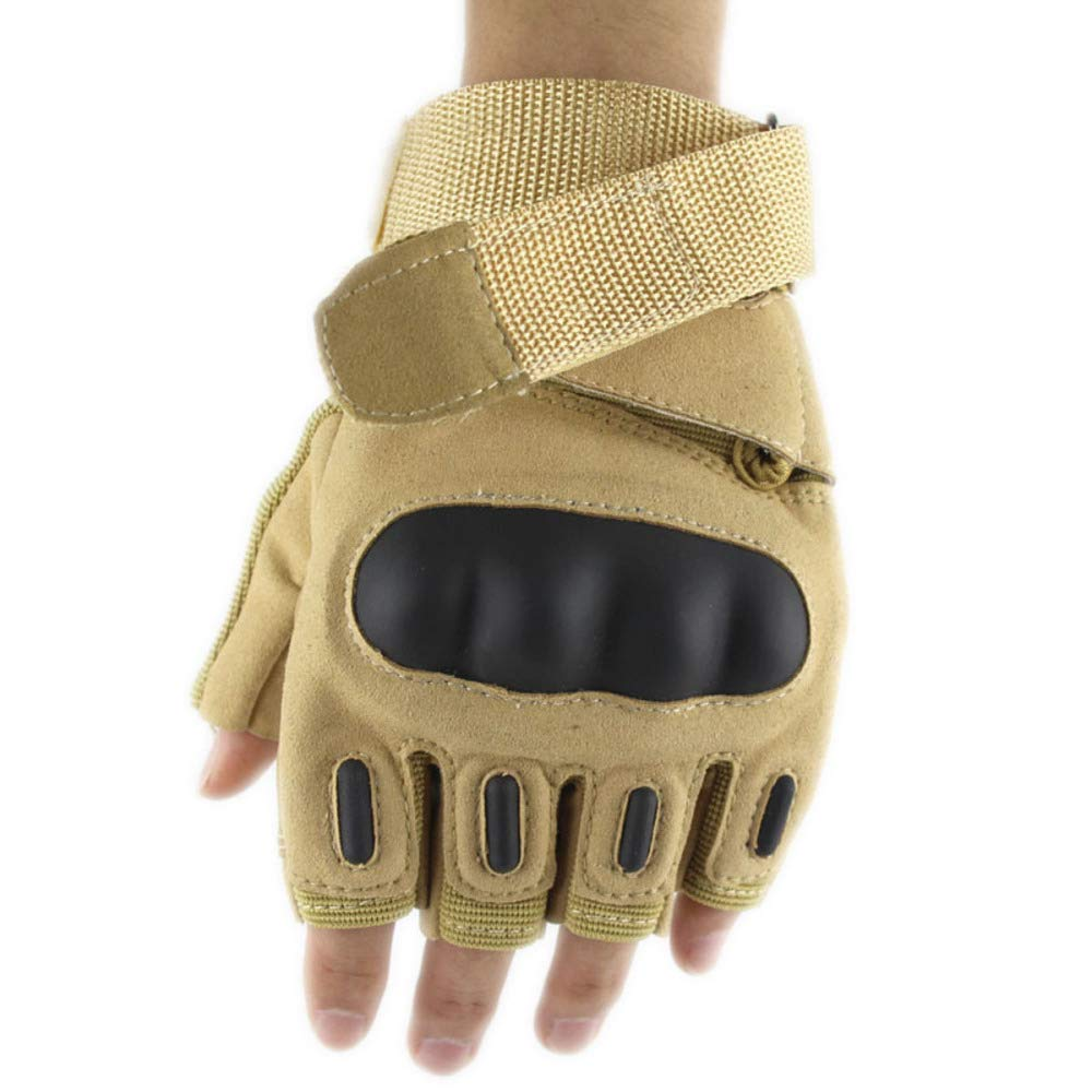 YIWANGO Herrenhandschuhe Im Freien Reiten Training Rutschfeste Fitnesshandschuhe Tragen,2-M