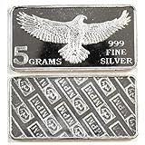Eagle Monarch 5 Gram .999 Silver Bar