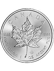2017 CA Canada Silver Maple Leaf (1 oz) $5 Brilliant Uncirculated Royal Canadian Mint