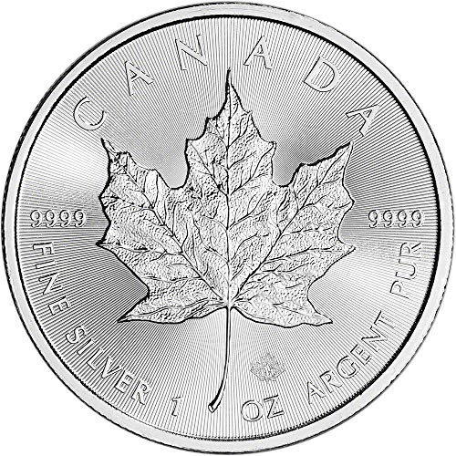 2017 CA Canada Silver Maple Leaf (1 oz) $5 Brilliant Uncirculated Royal Canadian Mint