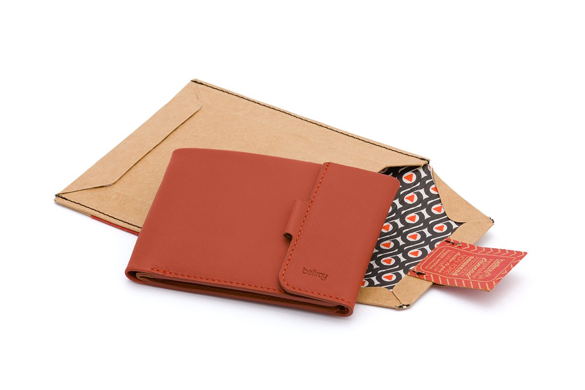 Bellroy Leather Coin Fold Wallet Tamarillo by Bellroy (Image #6)