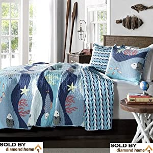 61uqMAf6X3L._SS300_ 200+ Coastal Bedding Sets and Beach Bedding Sets