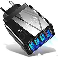 Carregador Quick Charger 3.0 USB de 48W para Samsung A50 A30 iPhone 7 8 Xiaomi mi9 Tablet QC 3.0 Carregador de Parede…