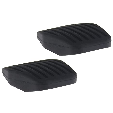 Create Idear 2pcs Coche Pedal Cubiertas de Embrague o Freno Pedal Pad de Goma Case,