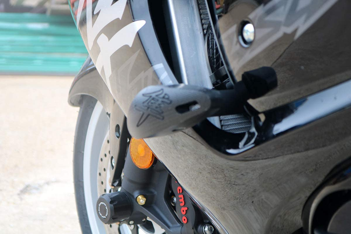 T-Rex Racing No Cut Frame Sliders for Suzuki 2008-2019 GSX1300R Hayabusa Blue