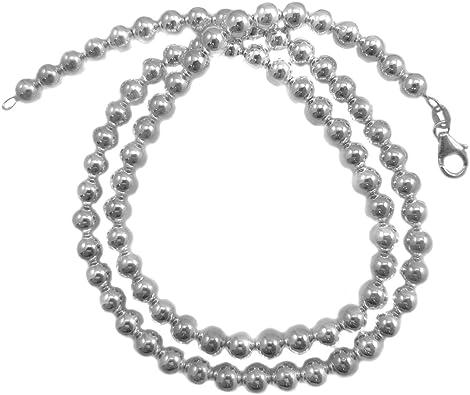18,20,22,24,30 inches JOSCO 6mm Rope Chain .925 Italian Sterling Silver Diamond-Cut Necklace