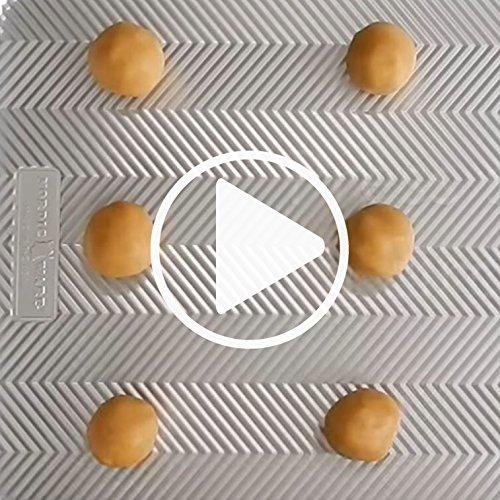 Nordic Ware Honeybee Cast Cookie Stamps, Metallic by Nordic Ware (Image #3)