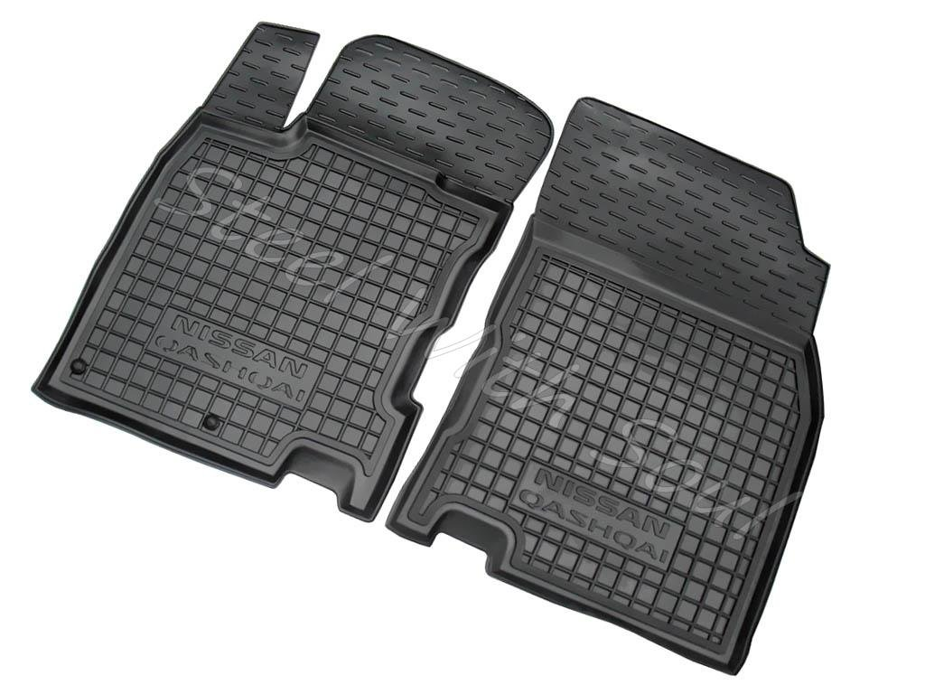 Floor mats qashqai - Amazon Com Fully Tailored Rubber Set Of 5 Car Floor Mats Carpet For Nissan Qashqai J11 2014 2017 Automotive