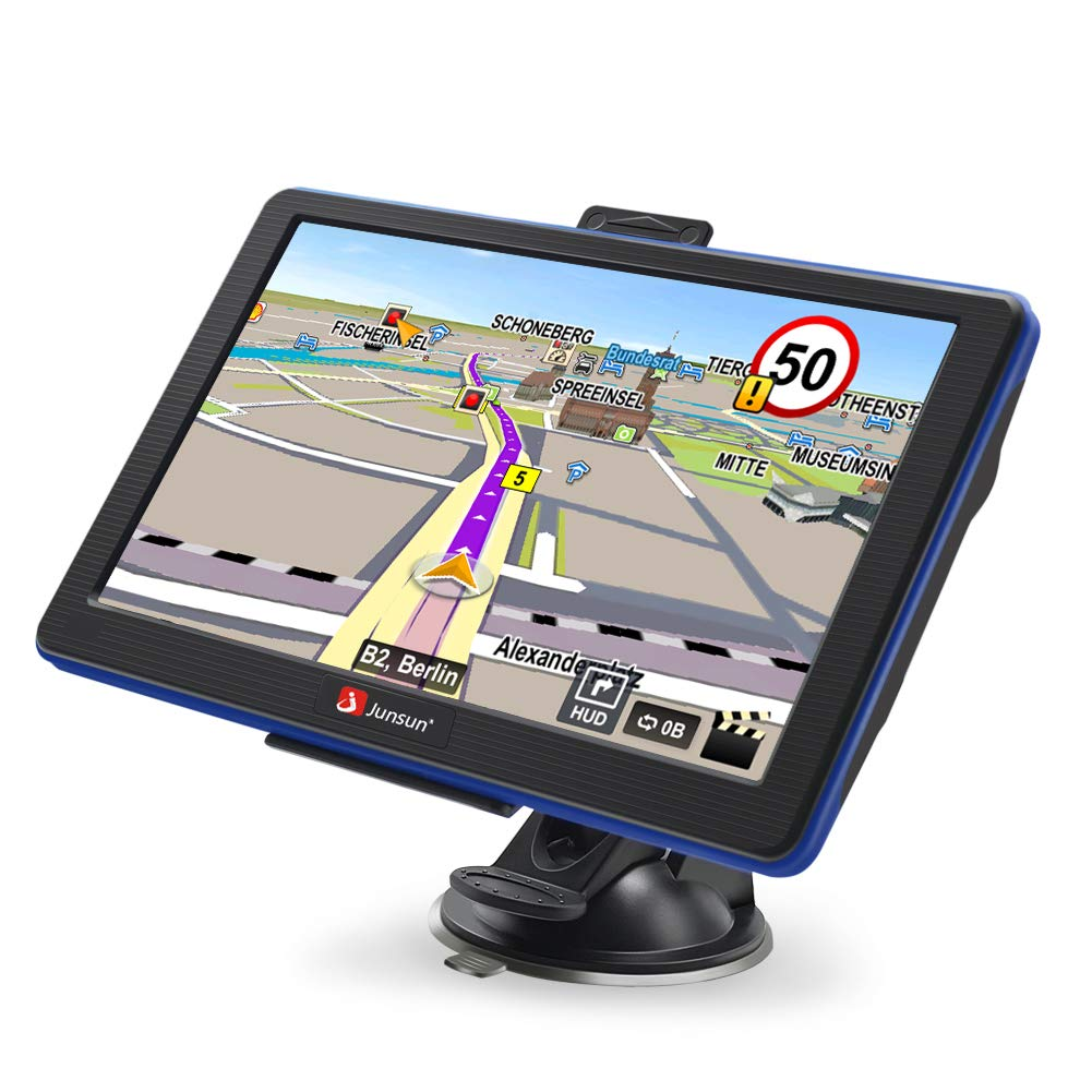 GPS Navigation for Car Portable GPS Navigation System 7 inch Capacitive Touchscreen Built-in 8GB FM MP3 MP4 Sat nav with Lifetime Maps