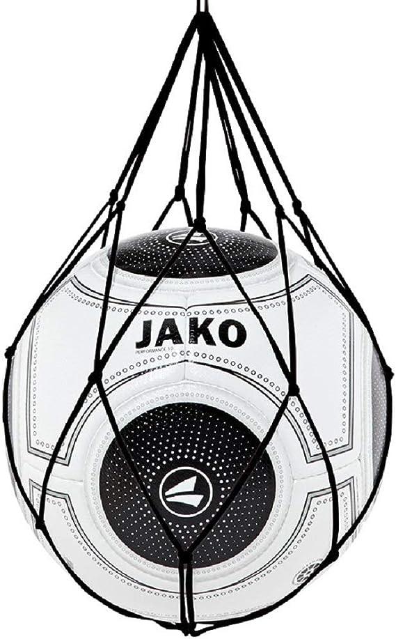 JAKO - Red para 1 balón, Color Negro, Talla única: Amazon.es ...