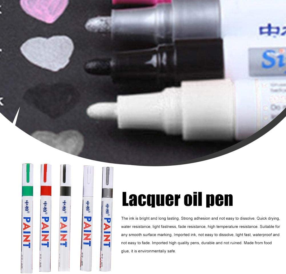 Universal Waterproof Permanent Motor Car Tyre Tread Paint Marker Pen Tool   Gh