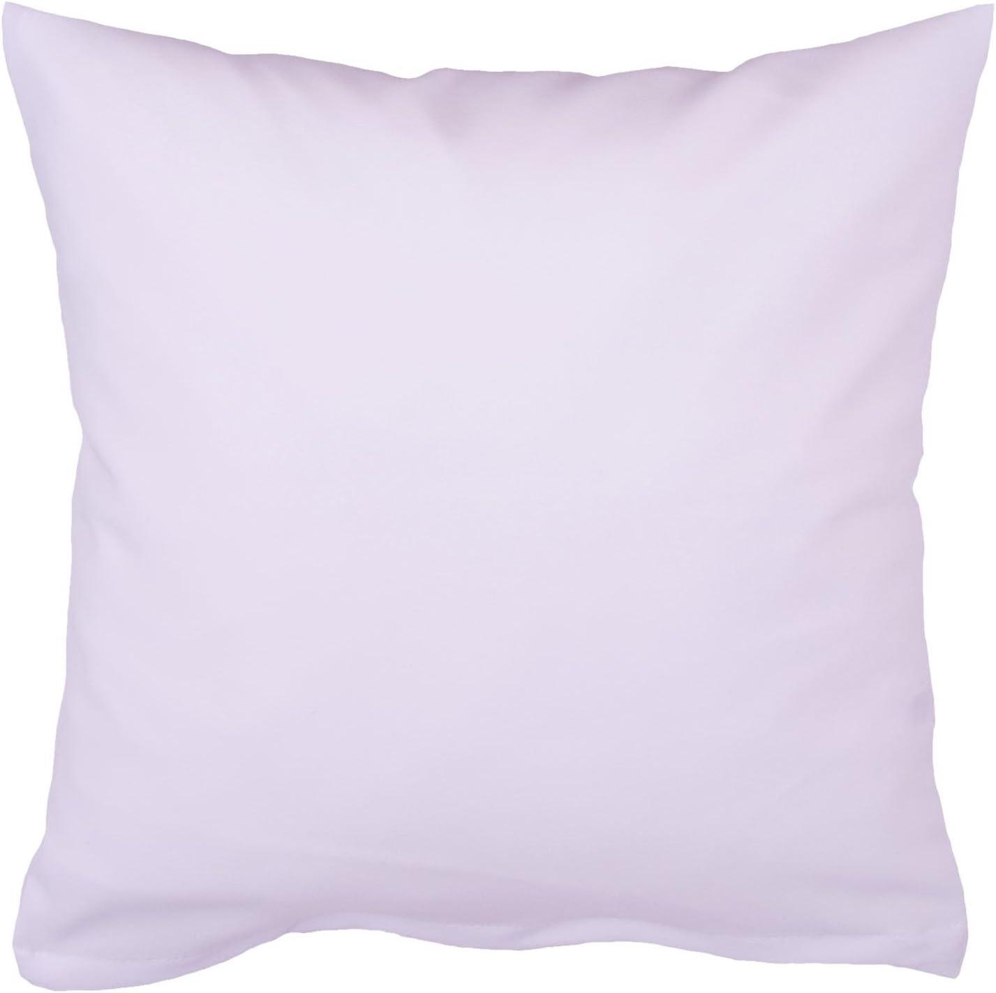 Hans-Textil-Shop Kissenbezug 20x30 cm Wei/ß Baumwolle Deko, Sofa, Kissen, Kopfkissen, Kissenh/ülle