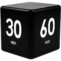 LZTGFT Kitchen Cube Timer, 15-20-30-60 Minutes for Time Management, Gravity Sensor flip Timer for Exercise, Work, Yoga…