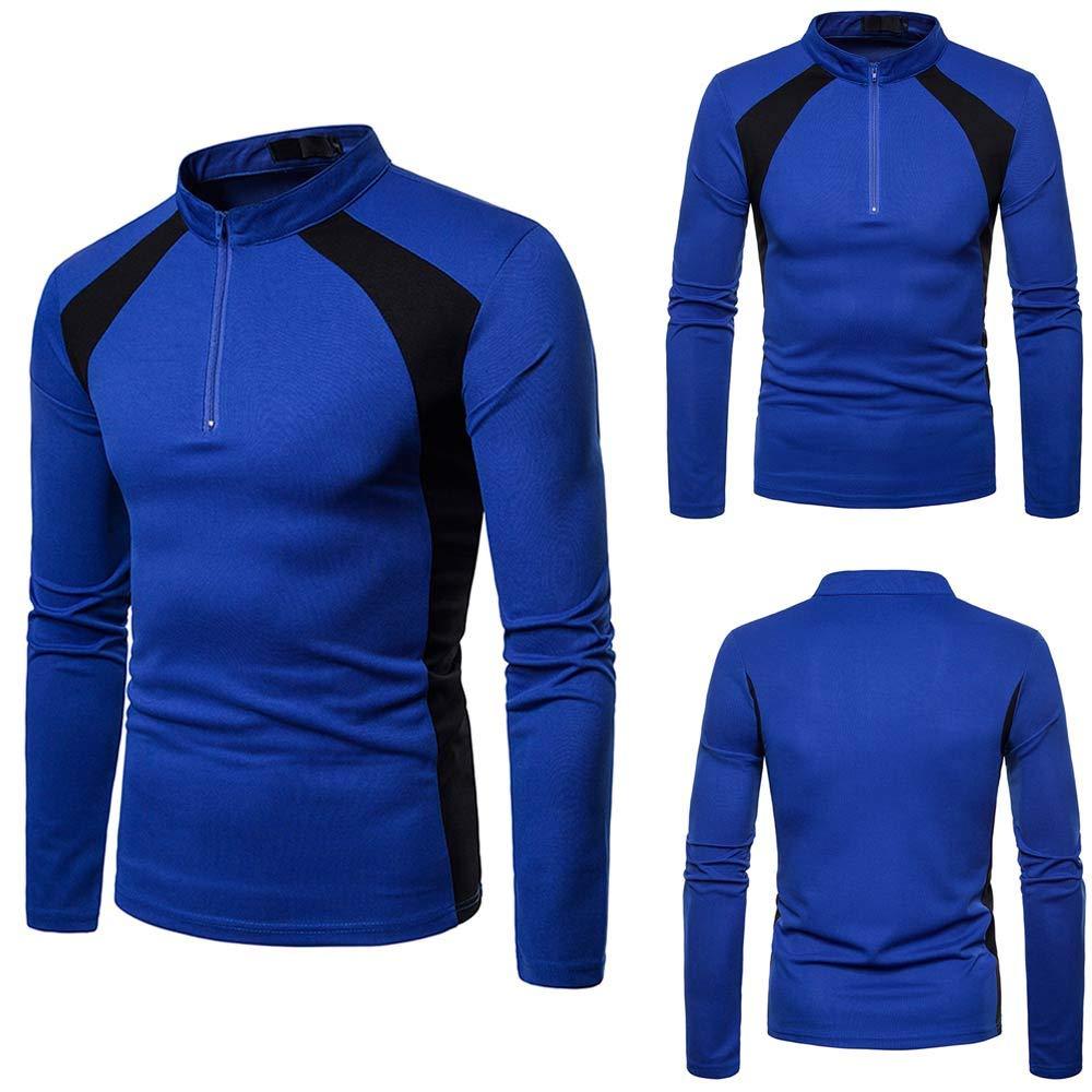 iLXHD Slim Fit T Shirts Sport Tee Shirt Mens Long Sleeve Shirts Mens Tops Blouse
