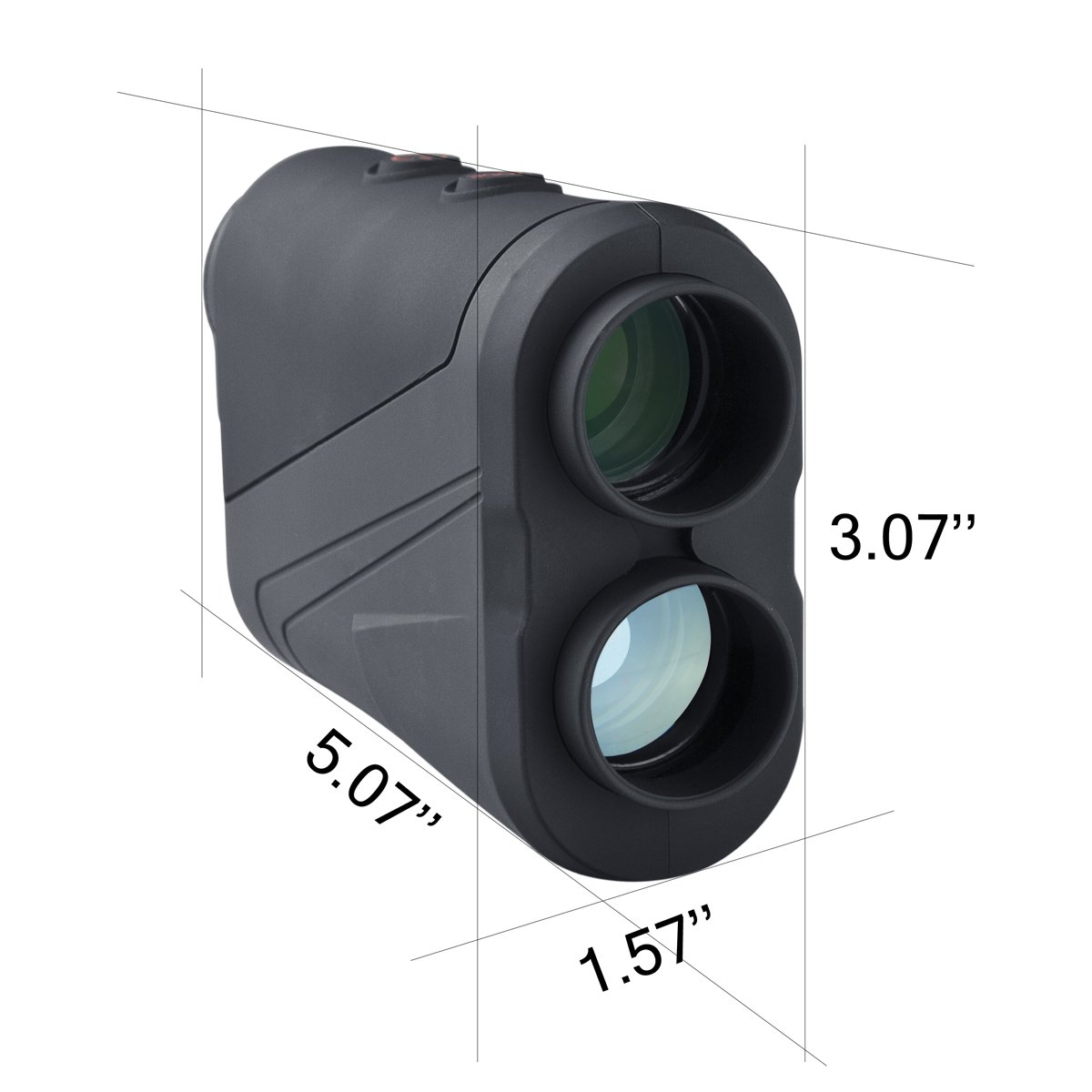 AZOT CS-600 Golf rangefinder Laser Range Finder with waterproof function Measure ranging and speed Free Battery by AZOT (Image #5)