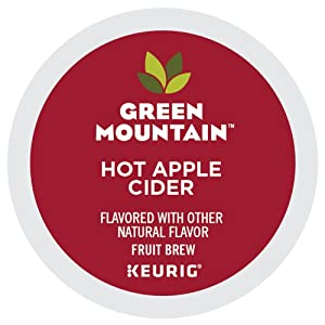 Green Mountain Coffee Hot Apple Cider K-Cup Pods 48 Count Case