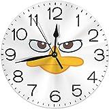 ペリーカモノハシ 掛け時計 壁掛け時計 置き時計 丸型 サイレント 連続秒針 デジタル ウォールクロック おしゃれ デジタル時計 高級感 装飾