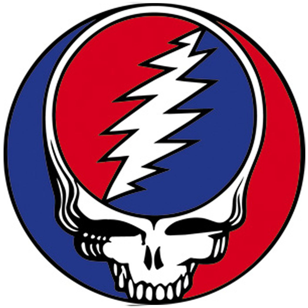 Steal Your Face 3 Round Magnet Grateful Dead