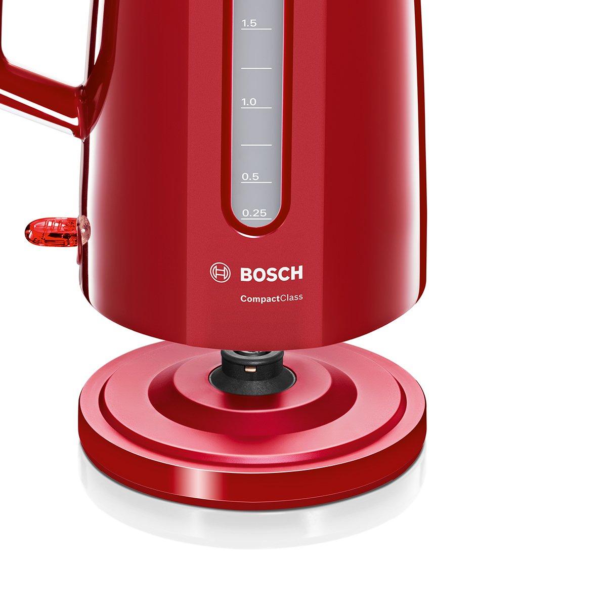 Bosch TWK3A014 - Hervidor de agua, 2400 W, Color Rojo: Bosch: Amazon.es: Hogar