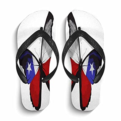 16f208af9c7d Mens Flip Flops Non-Slip Lightweight Beach Pool Fashion Print Thong Sandals  Size Black