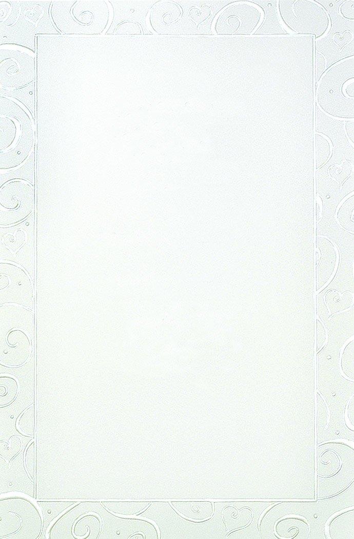 Pearl Foil Swirls Print at Home Invitation Kit