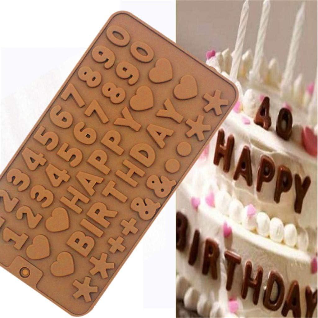 Sugarcraft Cercle Moule en Silicone Fondant Moule Gâteau Outils Chocolat Décoration Moule