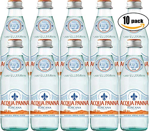 Acqua Panna Toscana Spring Water, 8.8oz Glass Bottle (Pack of 10, Total of 88 Oz) by Acqua Panna (Image #1)