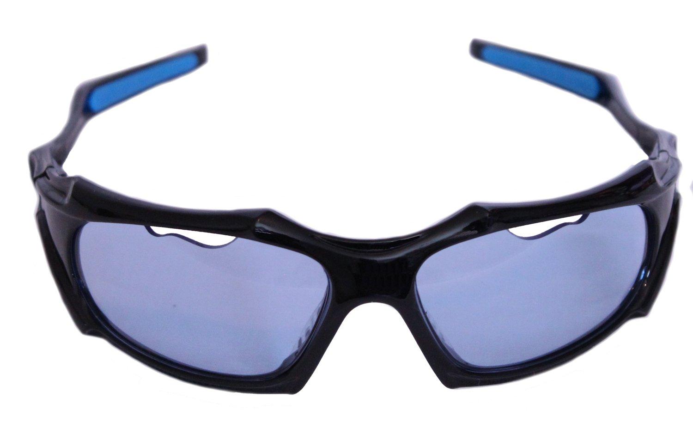 Python Full Framed (Blue Lense/Black Frame) Racquetball Eye Protection (Pickleball, Squash) (Eyewear, Goggle, Eyeguard)