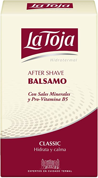 La Toja After Shave Bálsamo Hidrotemal 1 Ud De 100 Ml Amazon Es Belleza