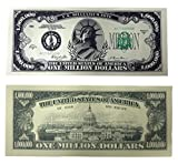TheGag Set of 100-Million Dollar Bills-Very Realistic Looking-Same Size As Real Money-Educational Product-PLAY MONEY