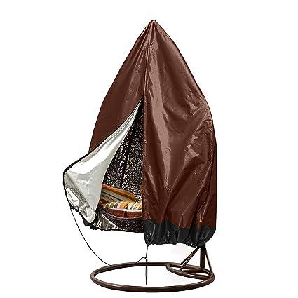 Amazon.com: Fundas para sillas colgantes de patio, grandes ...