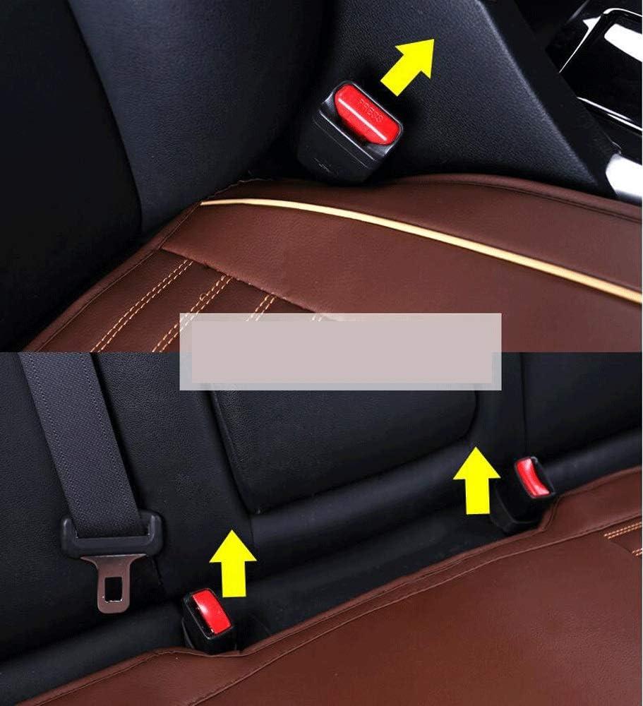 No Backrest Car Seat Color : Beige ZEQUAN Car Seat Cushion Breathable Non-slip Cushion Perfect Car Interior Four Seasons Universal