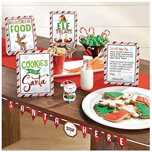 (Christmas 'Cookies for Santa' Buffet Decorating Kit (8pc))