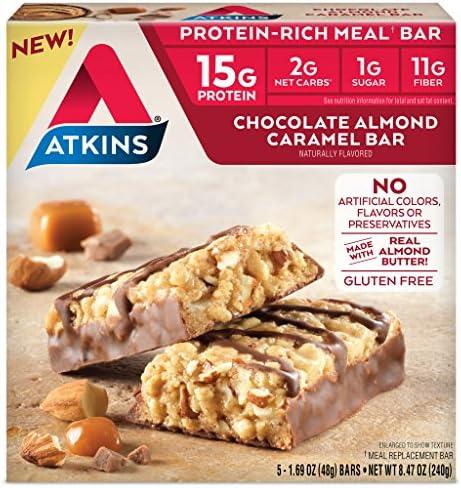 Atkins Protein Rich Chocolate Almond Caramel